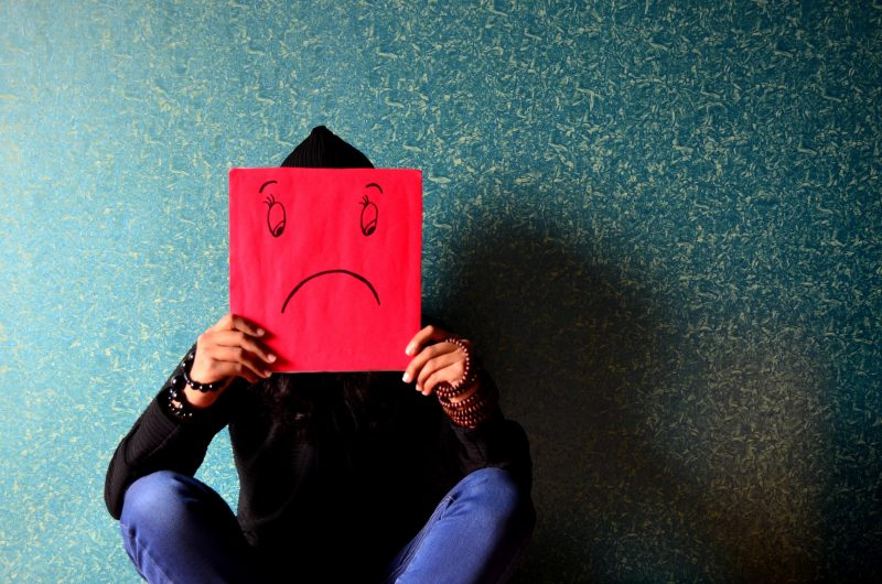 picture of sad face | content curation mistakes
