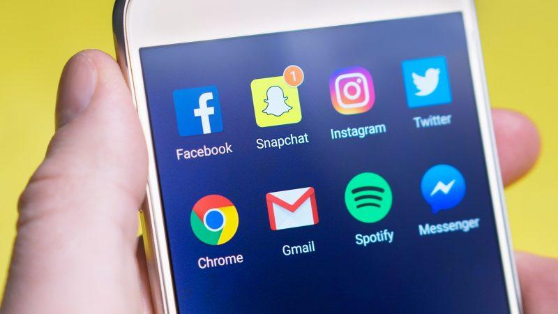 social media icons | sales from social media marketing