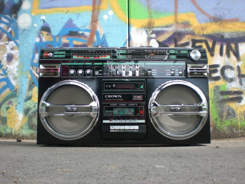 boombox | old school marketing