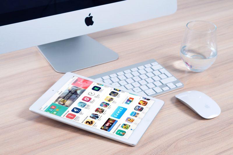 tablet open to app store | web content sucks