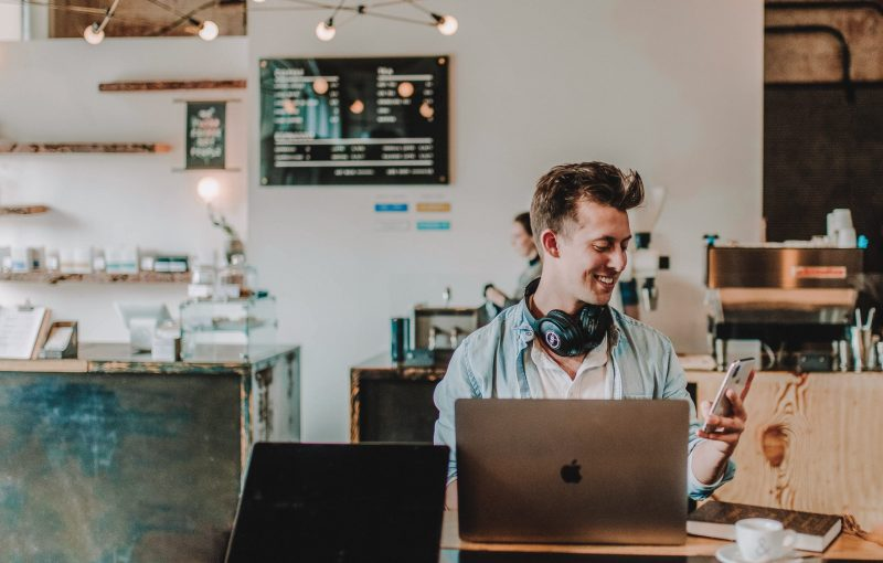 email marketing can still drive sales | working in a coffee shop