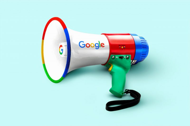 Google megaphone | blog success