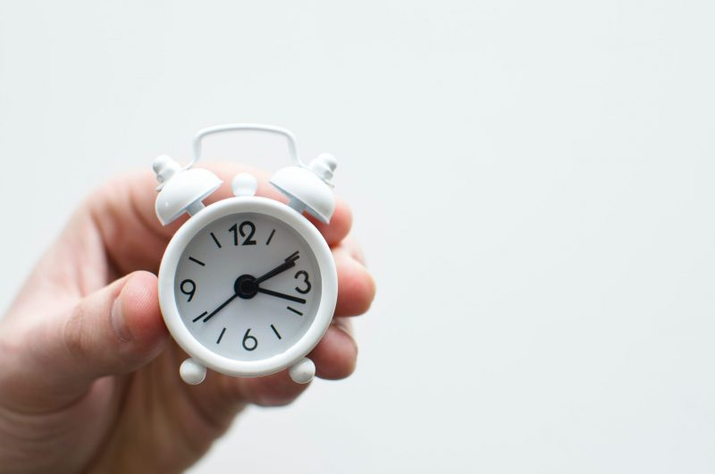 ticking clock | marketing emails