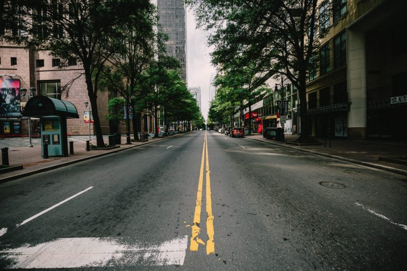 empty street | social media for lead generation